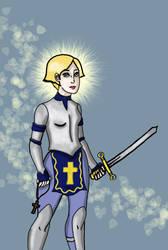Joan Of Arc by art-of-hobo