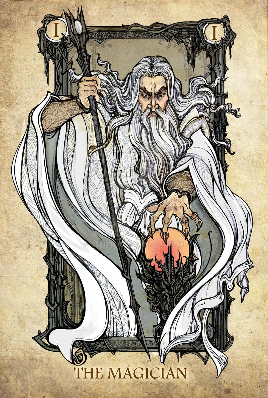 Tarot: the Magician by Sceith-A