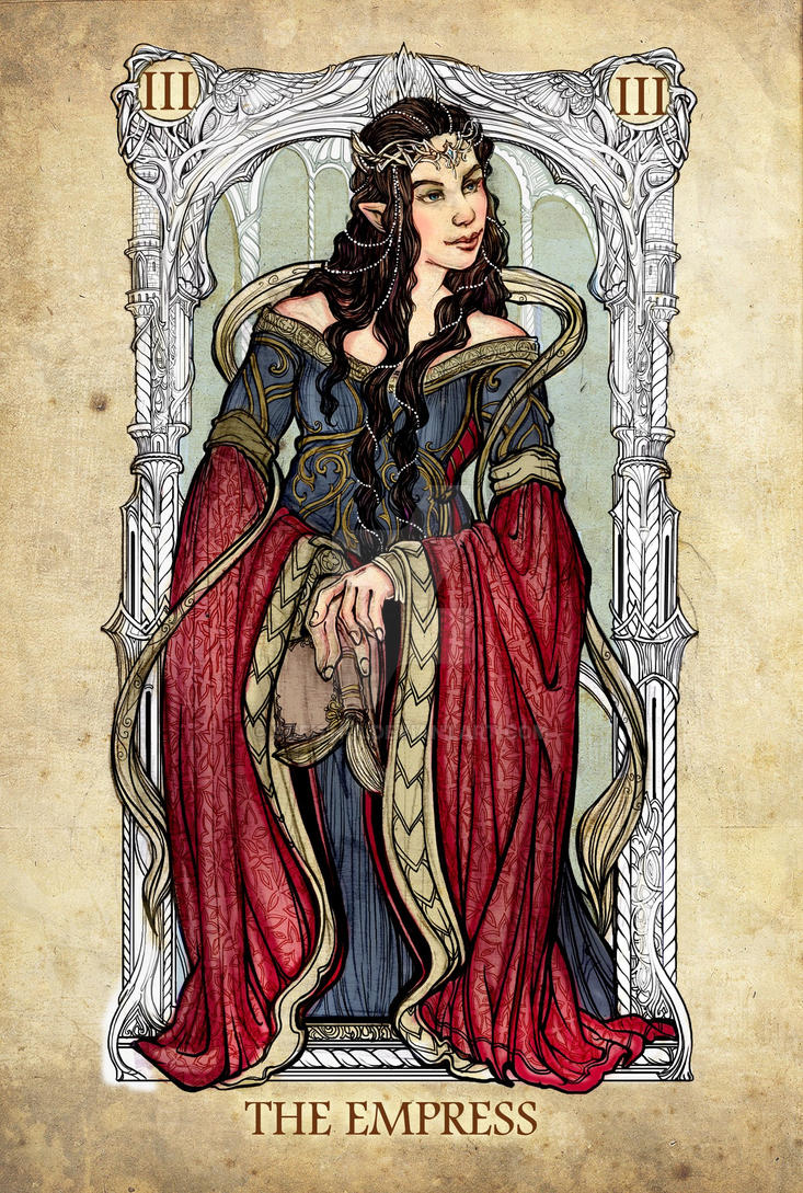 Tarot: The Empress by Sceith-A