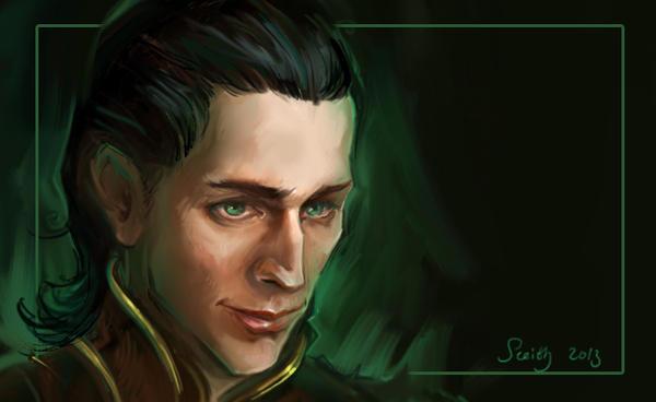 Loki sketch by SceithAilm