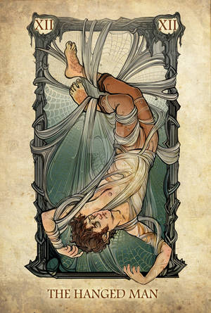 Tarot: The Hanged Man by Sceith-A
