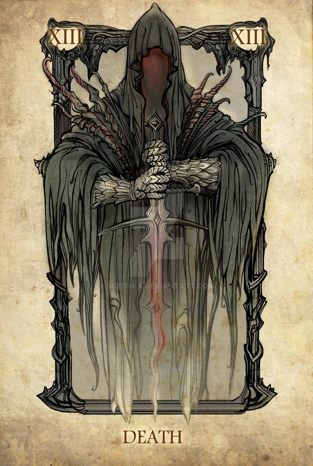 Tarot: Death by SceithAilm