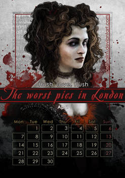 Geek Calendar 2014: April