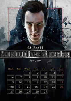 Geek Calendar 2014: January