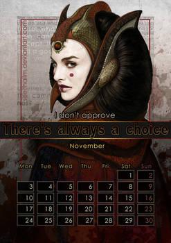 Geek Calendar 2014: November
