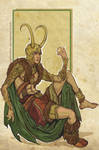 Loki sketch by Sceith-A