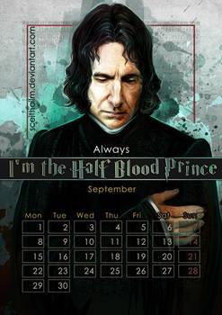 Geek Calendar 2014: September