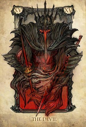 Tarot: The Devil by Sceith-A