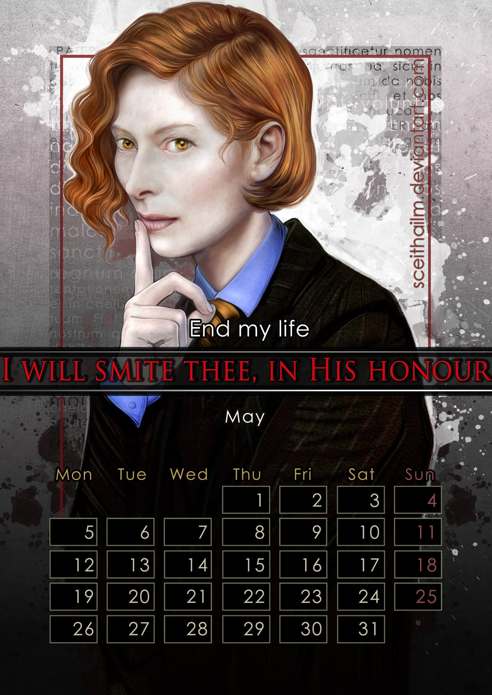 Geek Calendar 2014: May by SceithAilm