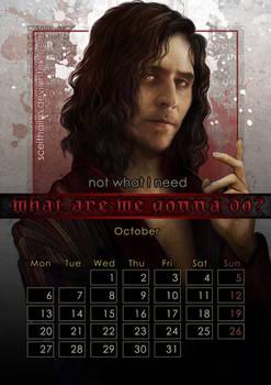 Geek Calendar 2014: October