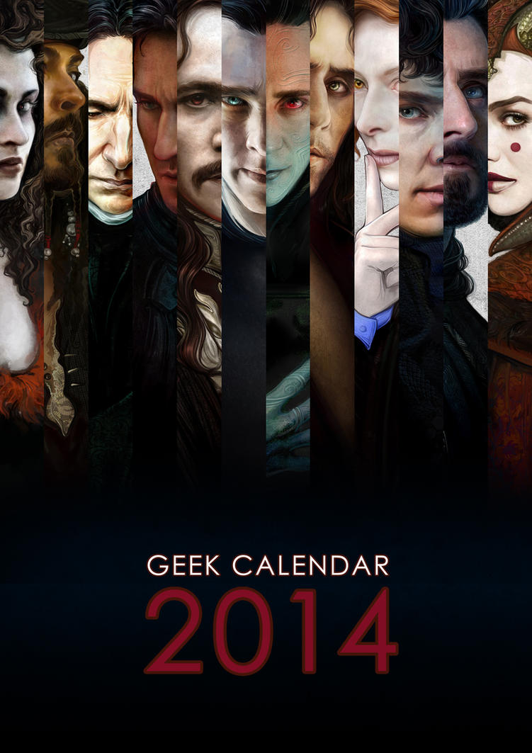 Geek Calendar 2014: Title Page by SceithAilm