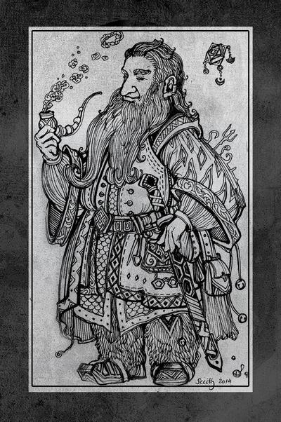 Hobbit sketchbook 5 by SceithAilm
