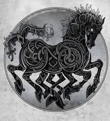 Sleipnir by Sceith-A