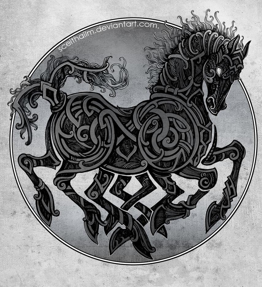 Image of Odin horse sleipnir