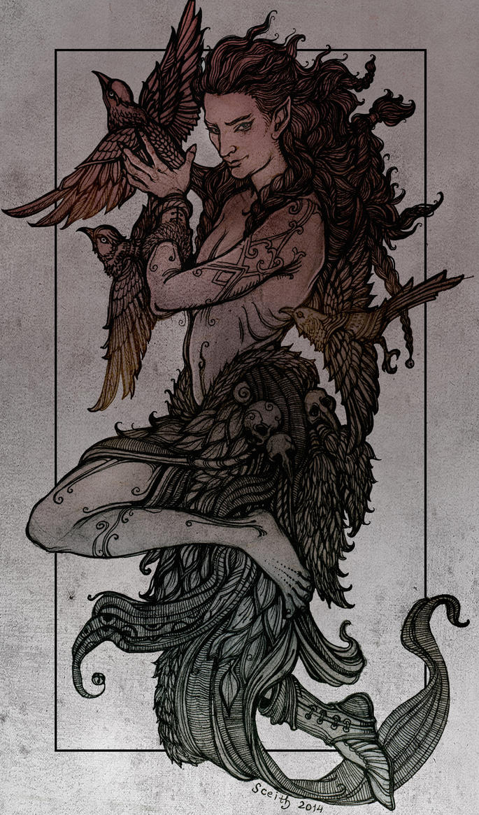 The Raven-God's Friend by SceithAilm