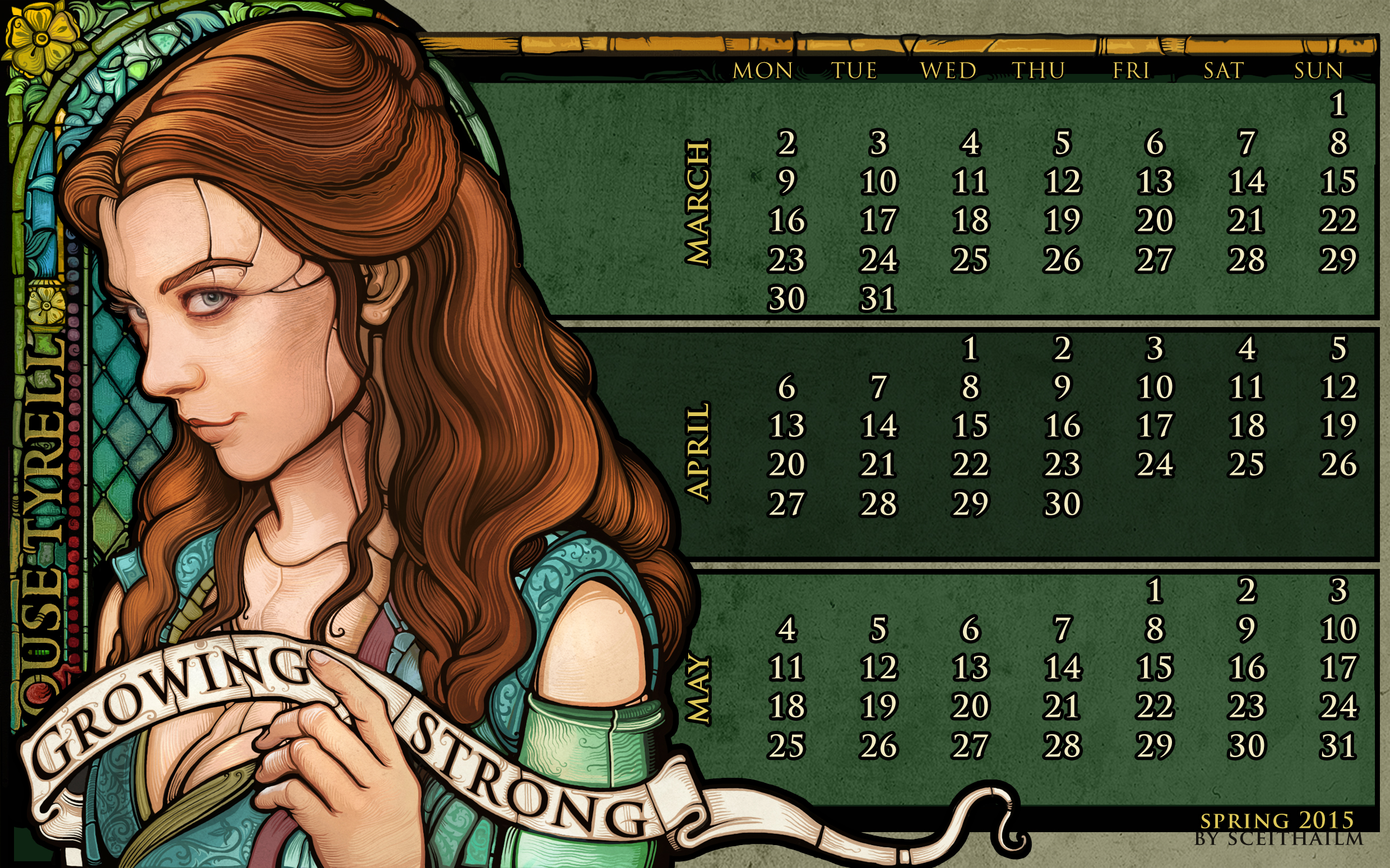 Spring 2015: House Tyrell by Sceith-A