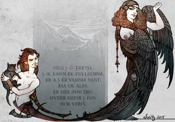 Freyja by Sceith-A