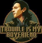 Loki T-shirt print