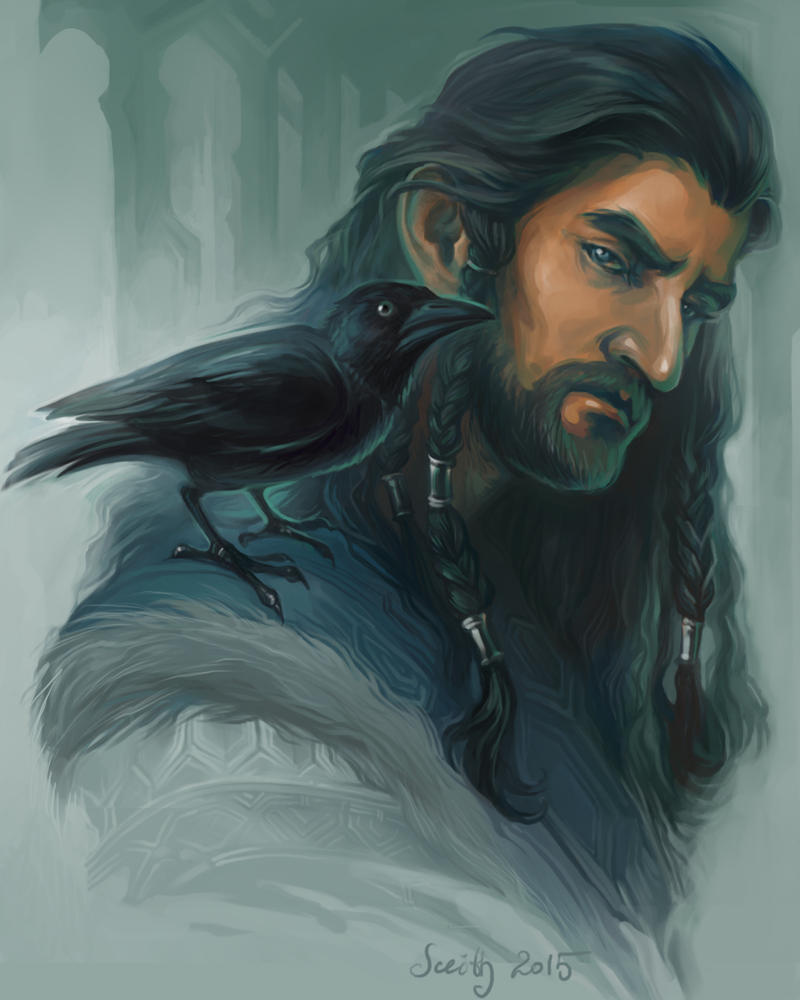 Thorin sketch by SceithAilm