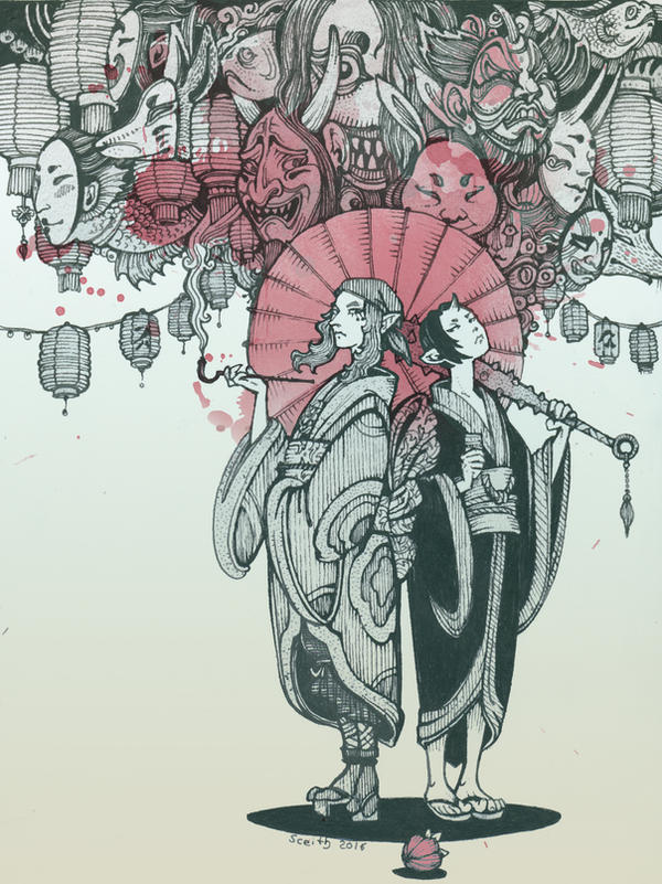 nakama-tachi by Sceith-A