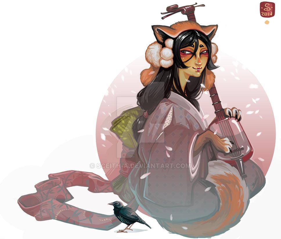 Kitsune by Sceith-A