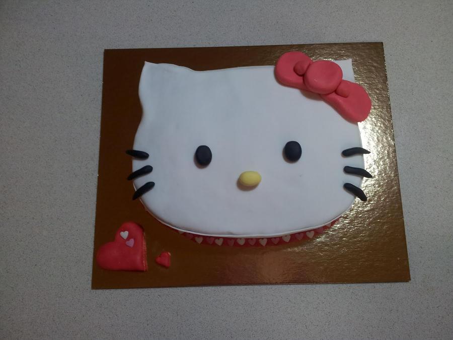 hello kitty fondant cake by TemyHikari on DeviantArt