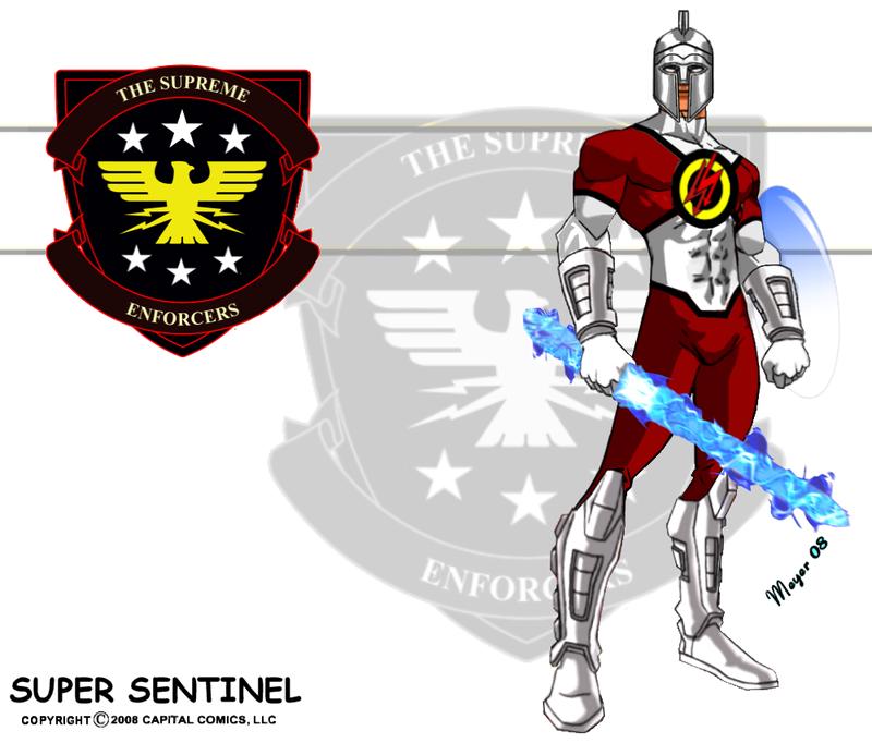 Super Sentinel, Power Display