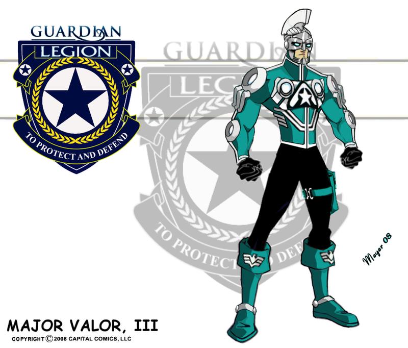 Major Valor, III by skywarp-2