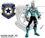 Major Valor, III Power up