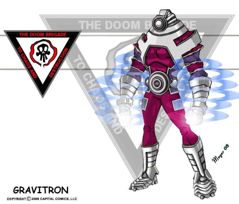 Gravitron, Powered
