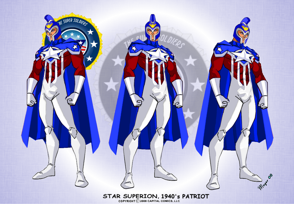 Showcase: Star Superion 1940s by skywarp-2