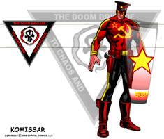 Komissar, Shield by skywarp-2