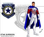 Star Superion Patriot Costume