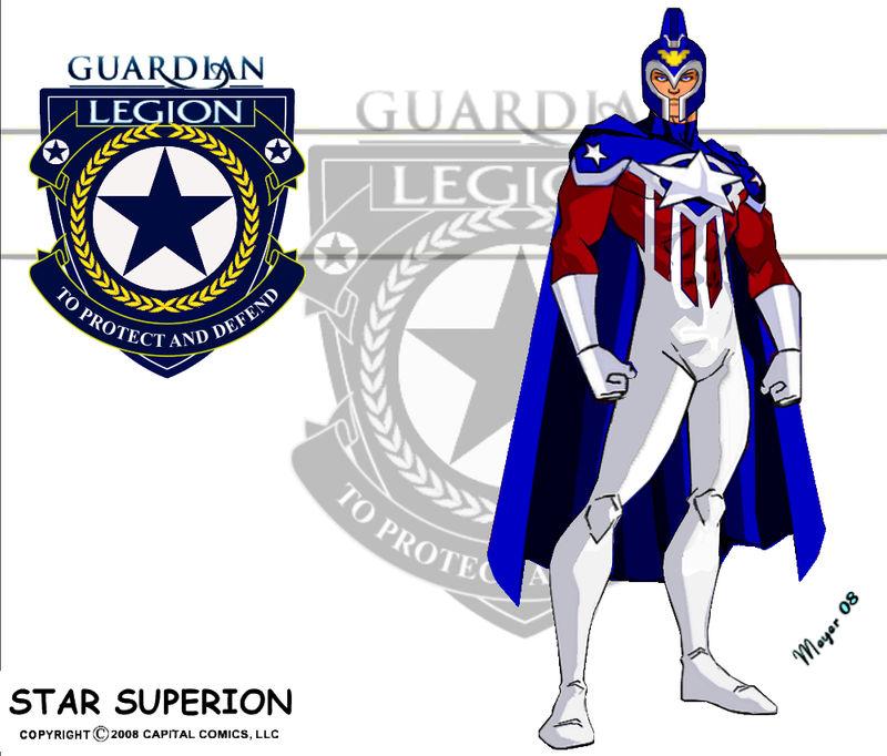 Star Superion-Patriot Costume