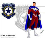Star Superion Reverse Costume