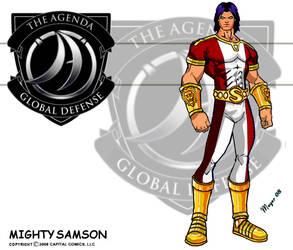 Mighty Samson Red-White