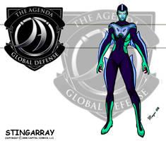 Stingarray, Stealth Suit by skywarp-2