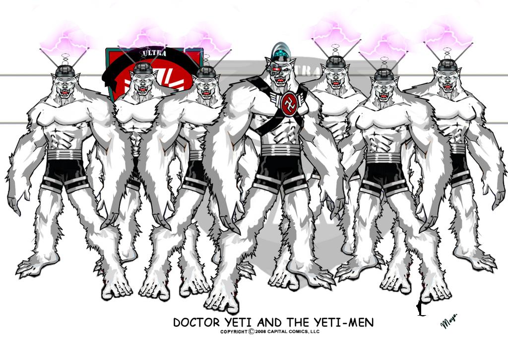 Doctor Yeti and The Yeti-Men by skywarp-2