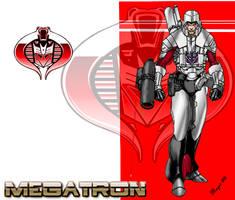 Megatron, Cyborg by skywarp-2
