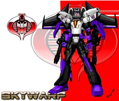 Skywarp, Cyborg-Face Shield