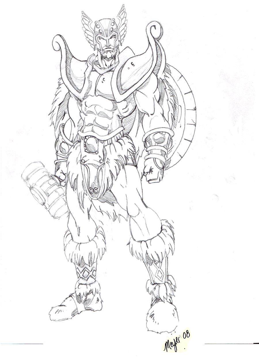 Image Result For Ragnorak Thor Coloring
