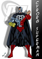DC Comic's Cyborg Superman by skywarp-2