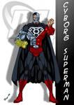 DC Comic's Cyborg Superman