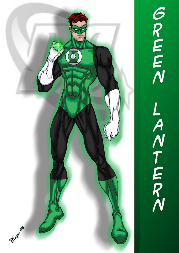 DC Comic's Green Lantern by skywarp-2 on DeviantArt