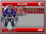 Killadon Data File