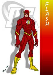 DC Comic's Flash by skywarp-2