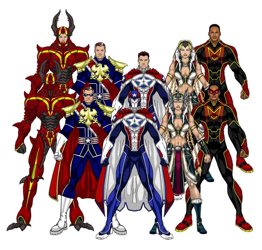 Capital Comics EX Heroes by skywarp-2