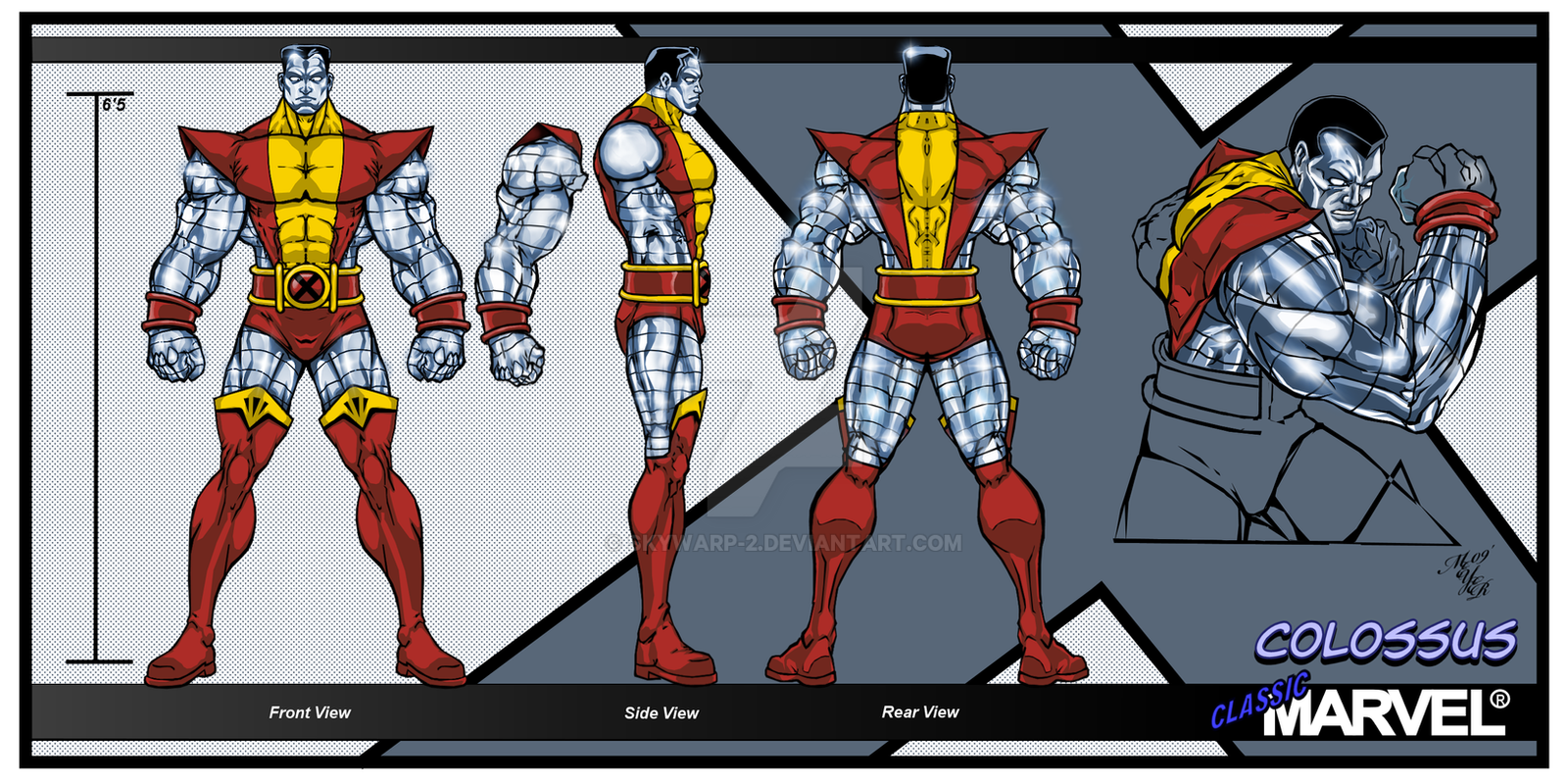 Classic Marvel-Colossus by skywarp-2 on DeviantArt