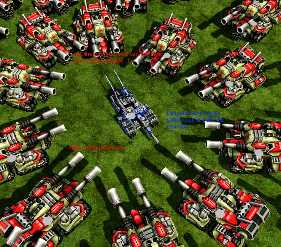 A Guardian Tank's Bad Day. by Oberst-Von-Grobel on DeviantArt Red Alert 3 Tank