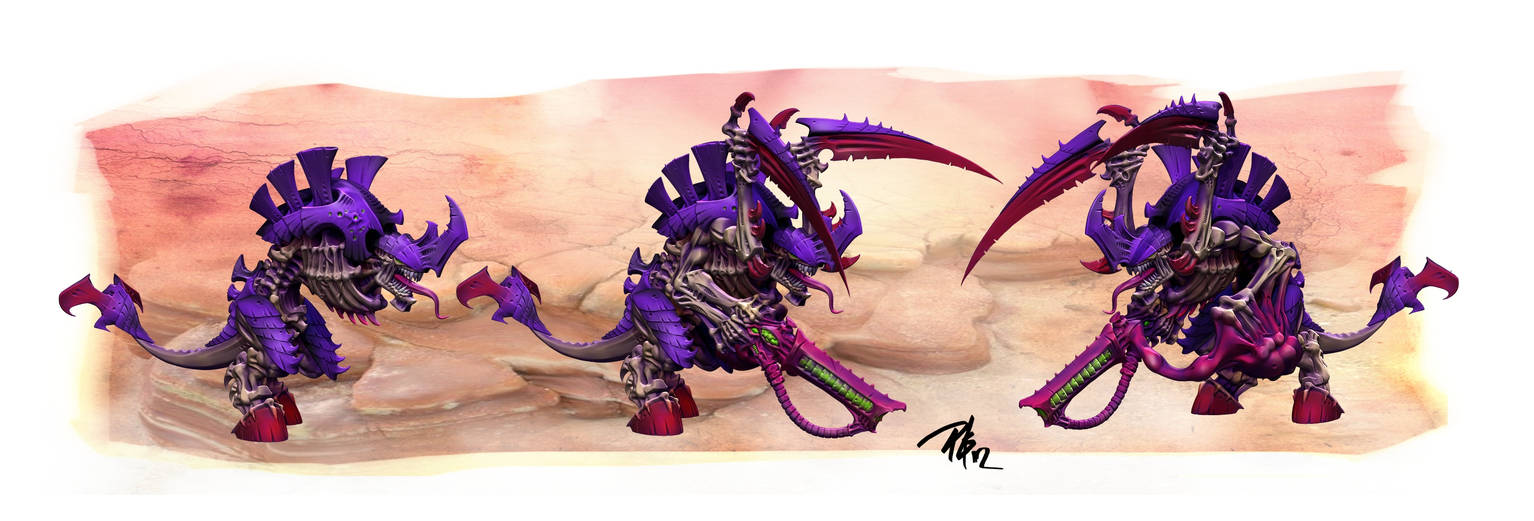 Tyranid Carnifex by Motion-in-Poetry on DeviantArt